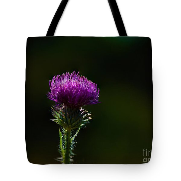 Field Thistle Tote Bag