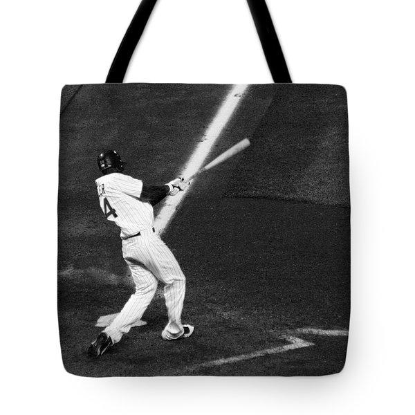 Fielder Fowler Tote Bag by Marilyn Hunt