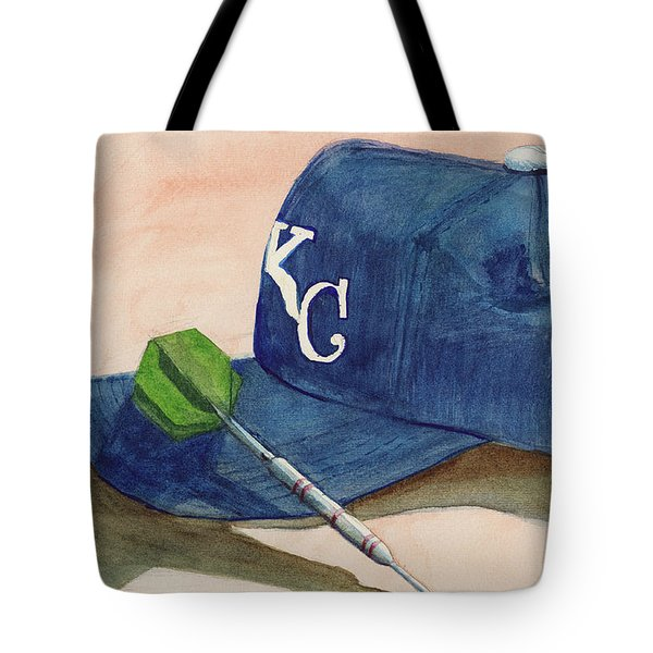 Fielder Tote Bag by Terry Lewey