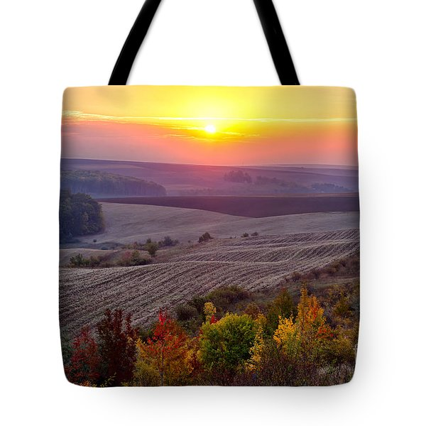 Fields Of Autumn Tote Bag