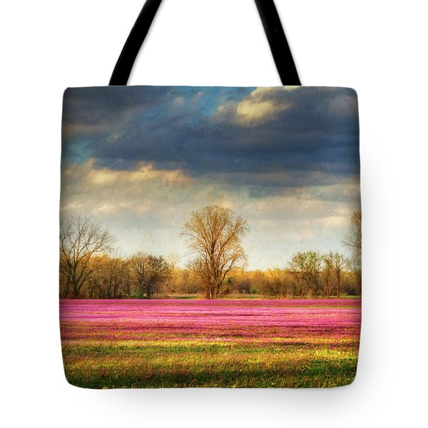 Fields Of Clover Tote Bag