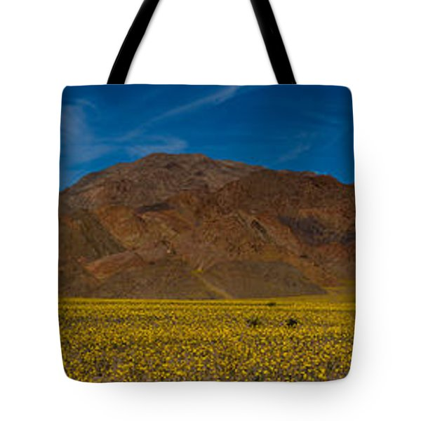 Fields Of Desert Gold - Death Valley National Park Tote Bag