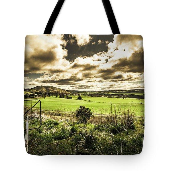 Fields Of Dynamic Range Tote Bag