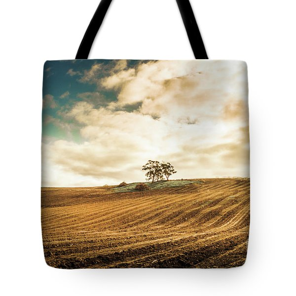 Fields Of Tasmanian Agriculture Tote Bag