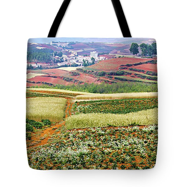 Fields Of The Redlands-1 Tote Bag