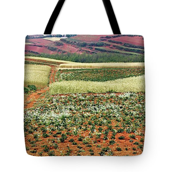 Fields Of The Redlands - 2 Tote Bag