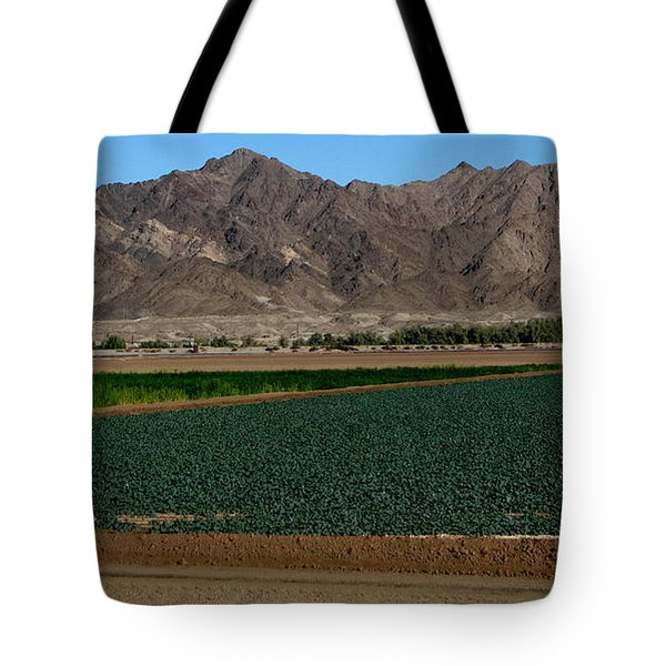 Fields Of Yuma Tote Bag