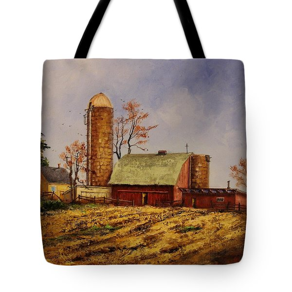 Fields Ready For Fall Tote Bag
