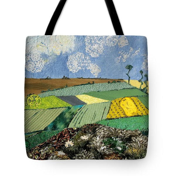 Fields To Gogh Tote Bag