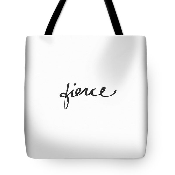 Fierce - Art By Linda Woods Tote Bag