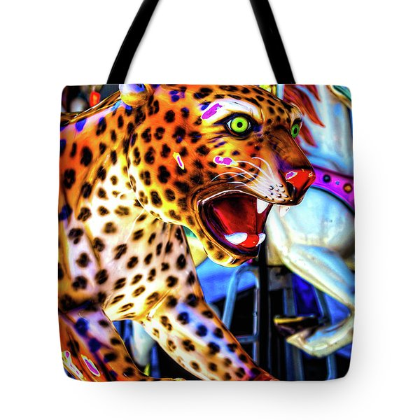Fierce Cheetah Tote Bag