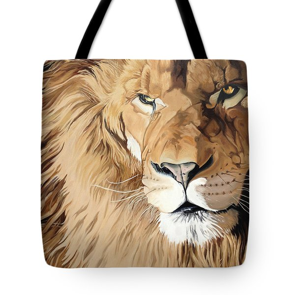 Fierce Protector Tote Bag