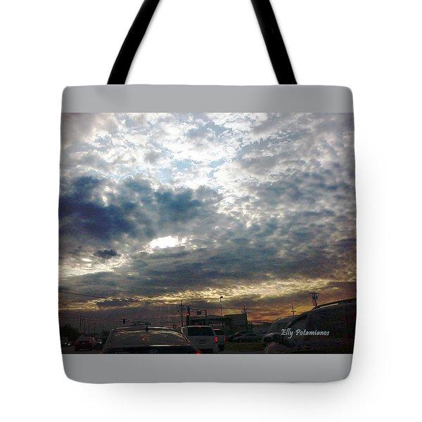 Fierce Skies Tote Bag