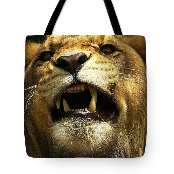 Fierce Tote Bag by Wade Aiken