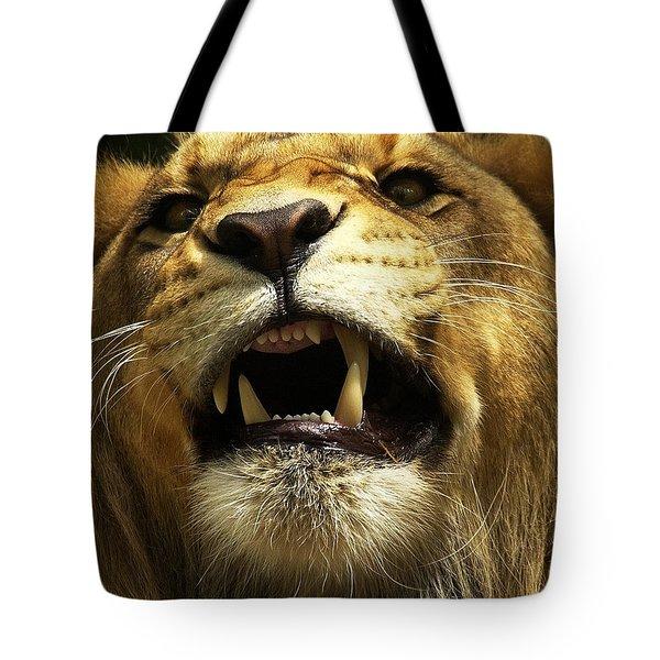 Fierce Tote Bag by Wade Aiken