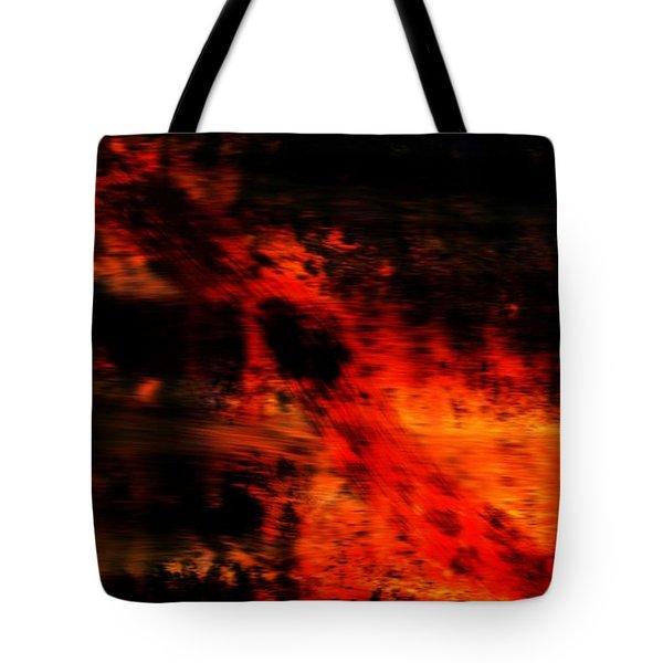 Fiery End Tote Bag