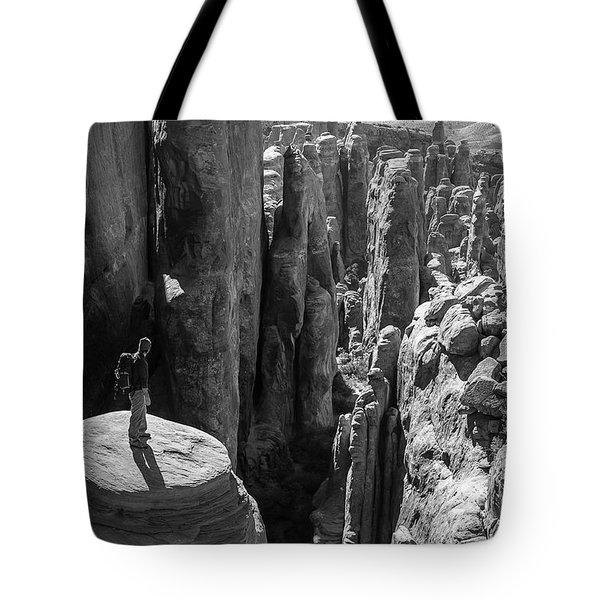 Fiery Furnace Tote Bag
