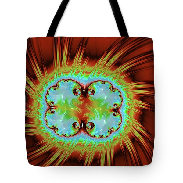 Fiery Glow Tote Bag by Rajiv Chopra