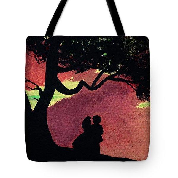 Fiery Skies Of Tara Tote Bag