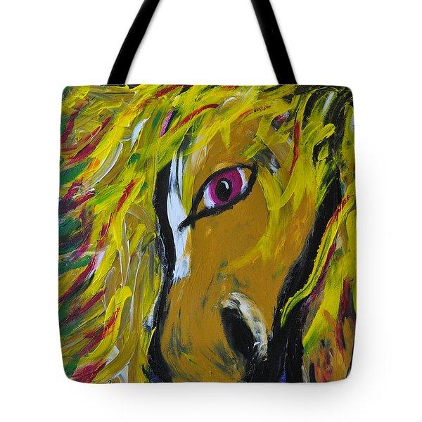 Fiery Steed Tote Bag