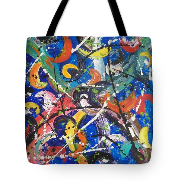 Fiesta Blue Tote Bag