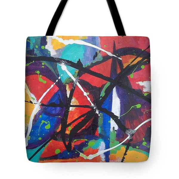 Fiesta Dance Tote Bag
