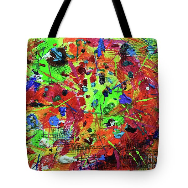 Fiesta Tote Bag by Jeanette French
