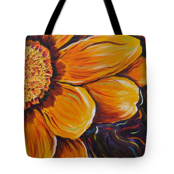 Fiesta Of Courage Tote Bag