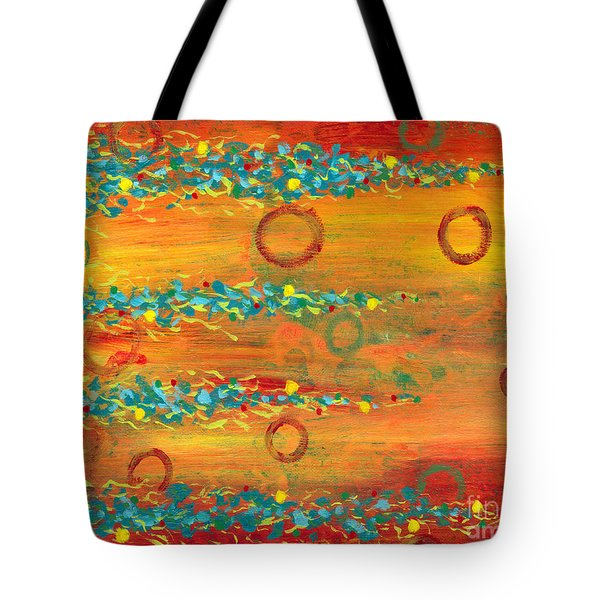 Fiesta Painting Tote Bag