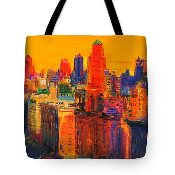 Fifth And Madison Tote Bag