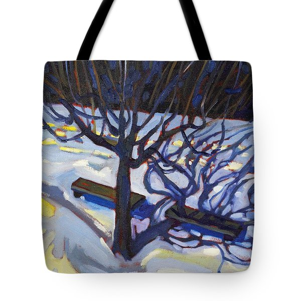 Fifth Floor Shadows Two Tote Bag