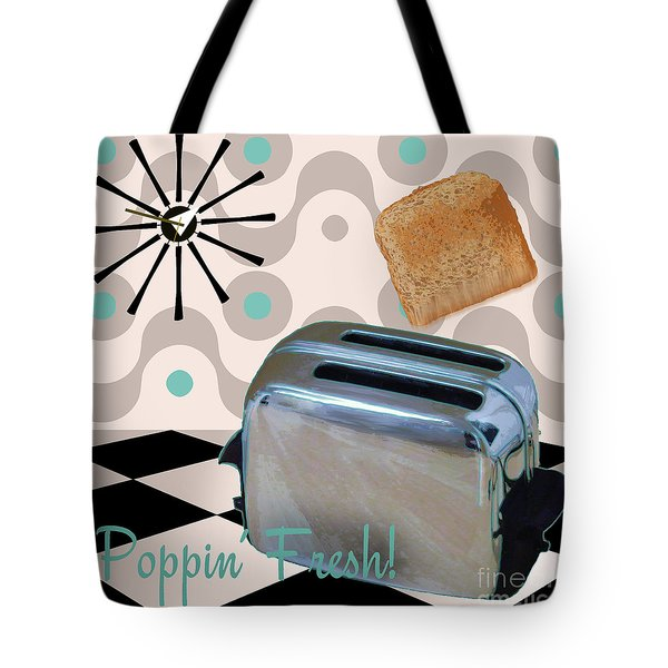 Fifties Kitchen Toaster Tote Bag