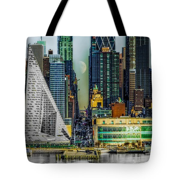 Tote Bag featuring the photograph Fifty-seventh Street Fantasy by Chris Lord