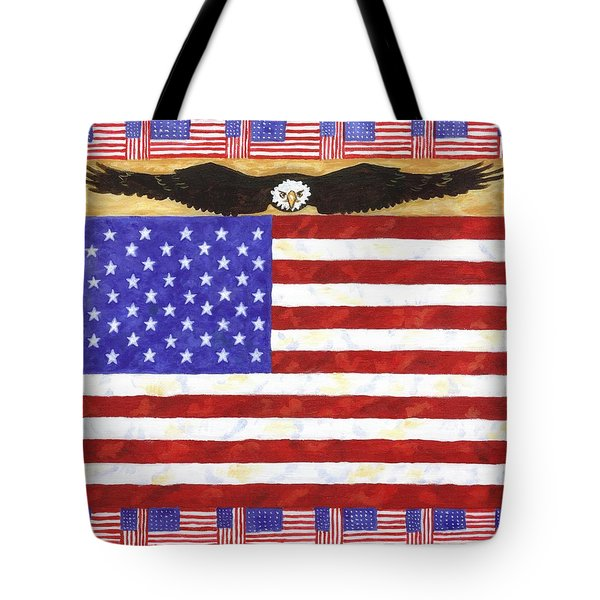 Fifty Stars Tote Bag by Linda Mears