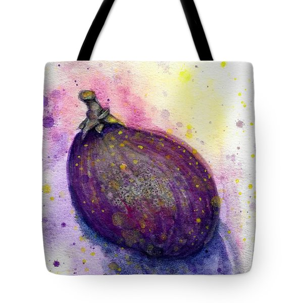 Tote Bag featuring the painting Fig by Ashley Kujan