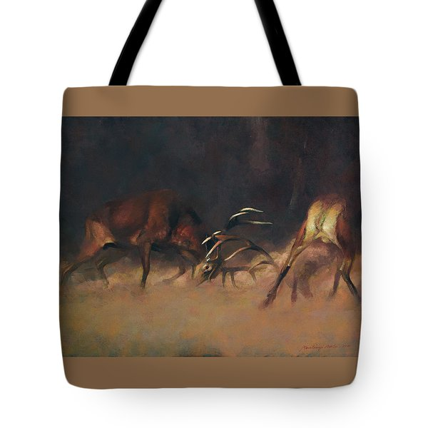 Fighting Stags I. Tote Bag