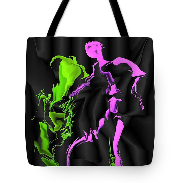 Fighting The Demon Tote Bag