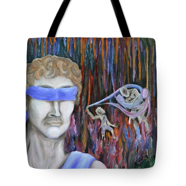 Fighting The Inner Goliath Tote Bag