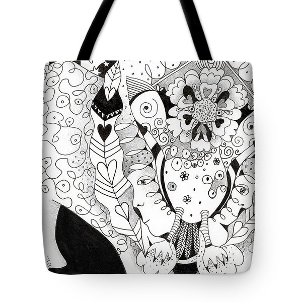 Figments Of Imagination - The Beast Tote Bag