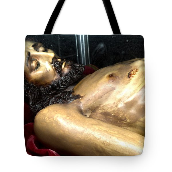 Figueres Spain Church Of St.peter Tote Bag by Gregory Dyer