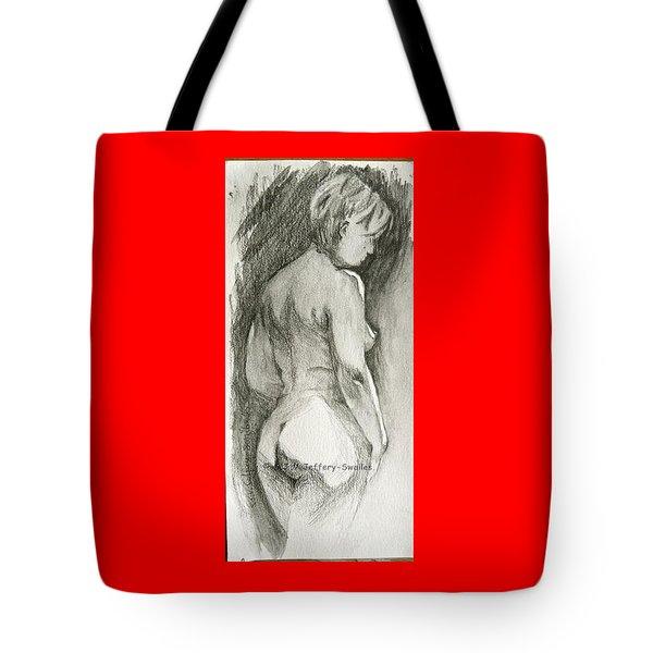 Figure Drawing.2. Tote Bag by SJV Jeffery-Swailes