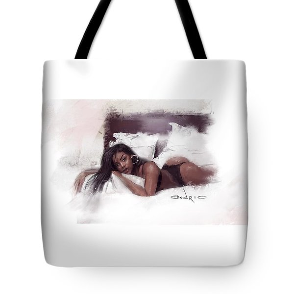 Tote Bag featuring the digital art Figure Study 2 by Dedric Artlove W