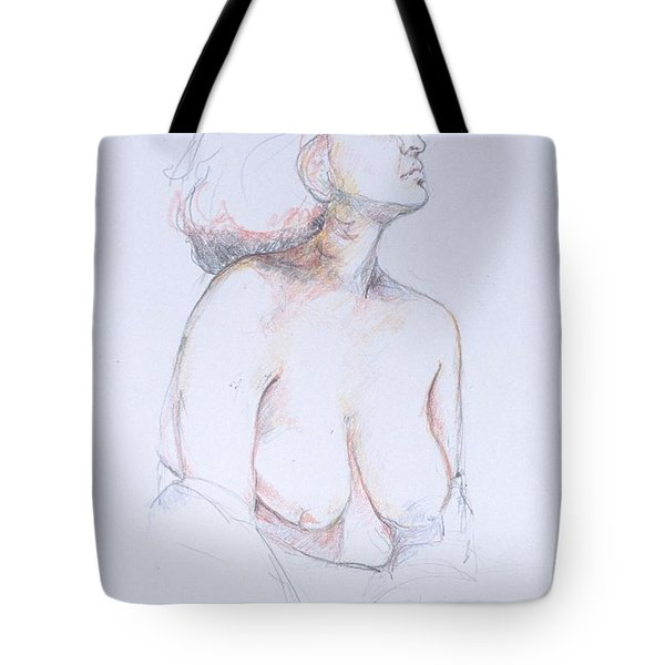 Figure Study Profile 1 Tote Bag