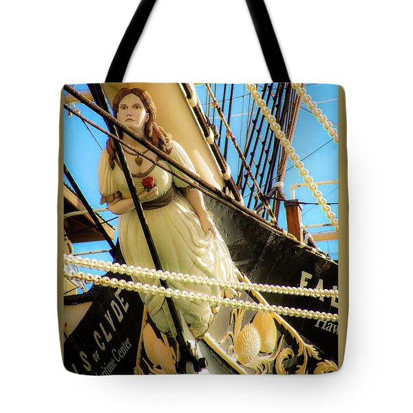 Figurehead - Falls Of Clyde Tote Bag