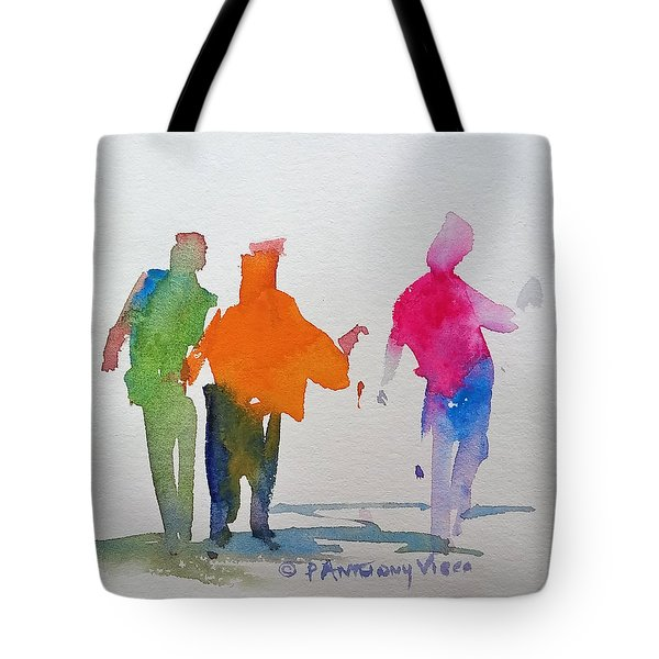 Figures In Motion  Tote Bag