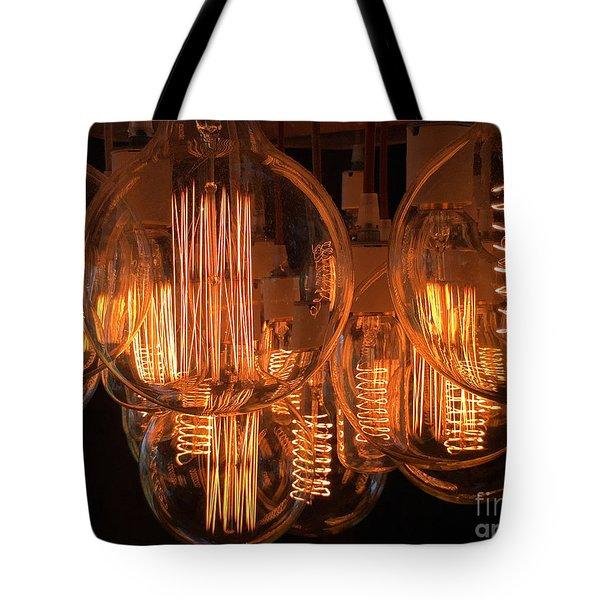 Filaments Tote Bag