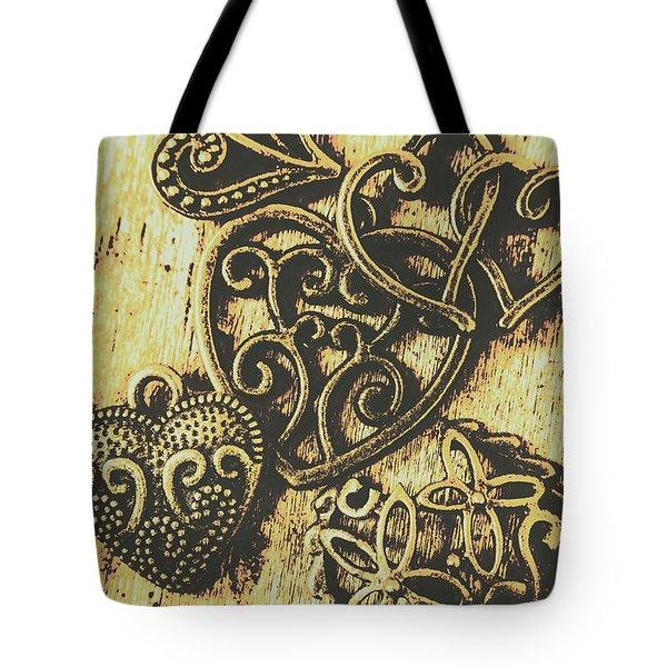 Filigree Love Tote Bag