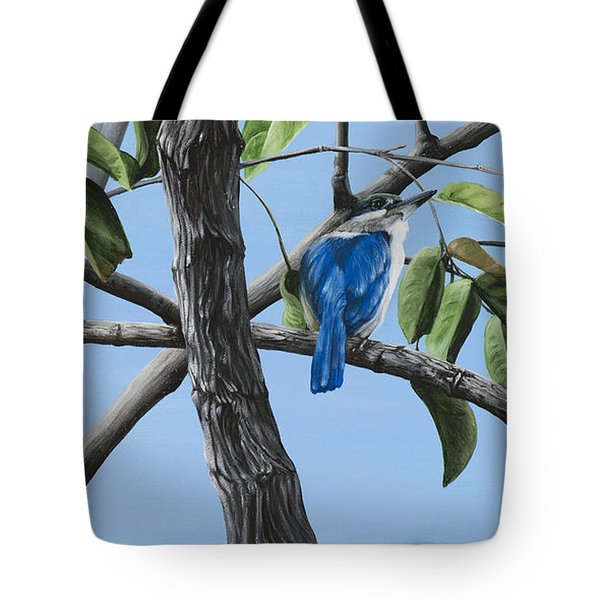 Filipino Kingfisher Tote Bag by Wendy Ballentyne