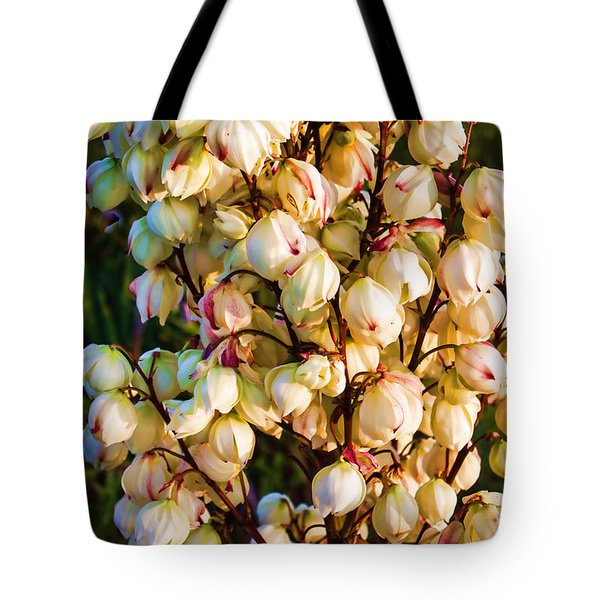 Filled With Joy Floral Bunch Tote Bag