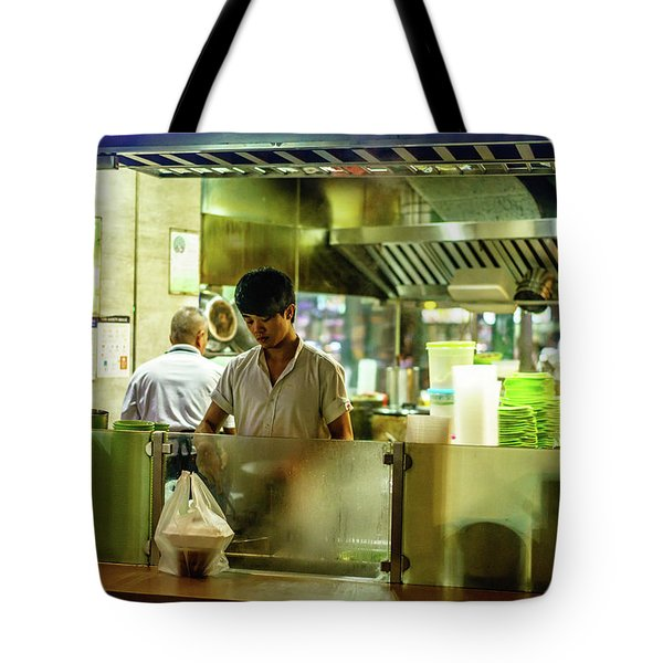 Filling Orders Tote Bag